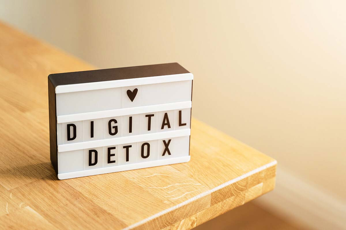 Stepping away from Digital Media!
